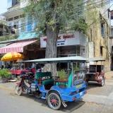 dans la ville a Phnom Phen