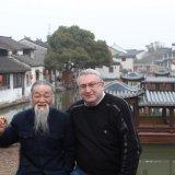 en compagnie d'un sage chinois