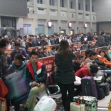 une gare en Chine