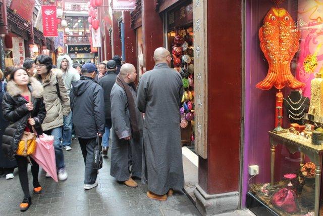 Shanghai, dans la vielle ville