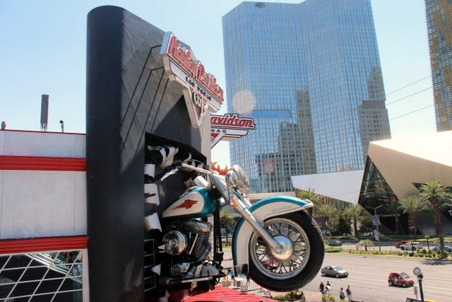 Harley Davidson a Las Vegas