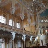 interieur de la grande Synagogue de Saint Petersbourg