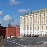 a l'intérieur de la forteresse du Kremlin