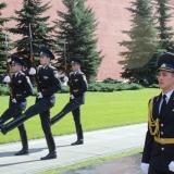 la relève de la garde a Moscou