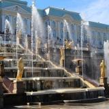 les fontaines du Palais de Catherine