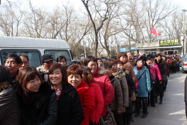 journée de la femme a Pékin