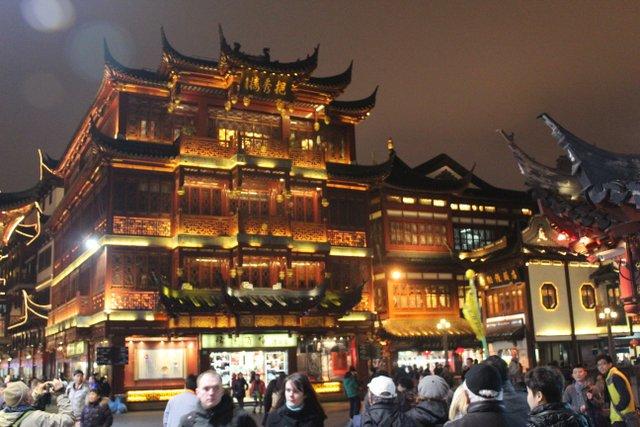 dans la veille ville a Shanghai
