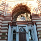 entrée de la Synagogue de Saint Petersbourg