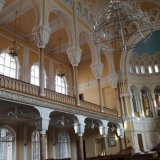 interieur de la grande Synagogue de Saint Petersbourg