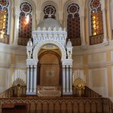 l'interieur de la grande synagogue de Saint Petersbourg