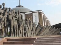 sculpture commémorant la Shoah